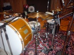 Stephen Hodges' drumkit