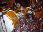 Stephen Hodges' drumkit